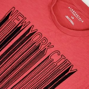 Aeropostale Red T-shirt New York City Graphic